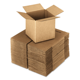 """General Supply 24"""" x 24"""" x 24"""" Corrugated Shipping Boxes  Brown  Pack of 10"""