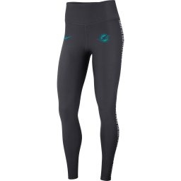 Women's Nike Gray Miami Dolphins Performance Tights