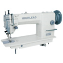 Highlead GC0318-1 Lockstitch Sewing Machine w/ Top & Bottom Feed with Table and Servo Motor (Assembled)