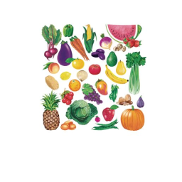 Fruits & Vegetables Combo Felt Set