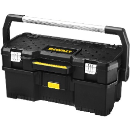 """Stanley Tools DWST24070 DeWalt Branded 24"""" Tote w/Removable Power Tools Case"""