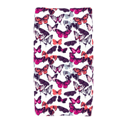 Butterfly Kisses Changing Pad Cover