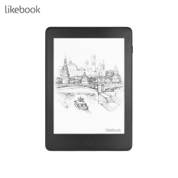 Likebook Air E-reader Ebook Reader with 6'' E-Ink Touchscreen Frontlight Wi-Fi Bluetooth Function Android System