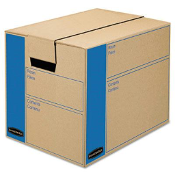 """Bankers Box SmoothMove 12"""" x 12"""" x 16"""" Prime Moving & Storage Boxes  10-Boxes"""
