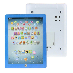 Kids First Educational Learning Touch Screen Tablet - Assorted Colors / Blue