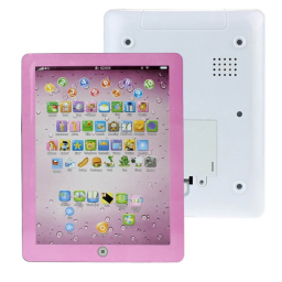 Kids First Educational Learning Touch Screen Tablet - Assorted Colors / Pink