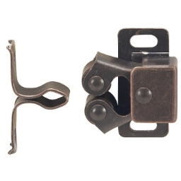 Hardware House  644567 Roller Catch, Bronze ~  10 Pack