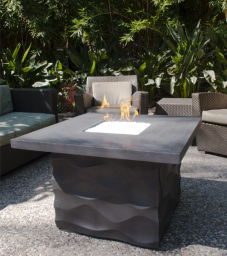 Voro Square Fire Pit Table