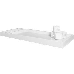 Beverly Tray in White - White