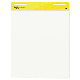 """Post-It Self-Stick  25"""" X 30""""  30-Sheet  2-Pack  Unruled Easel Pads"""