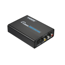 1080p HD to AV Composite/S-Video Converter HD to CVBS/S-VIDEO Video Converter Adapter