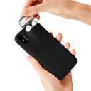 iPhone Case With AirPods Holder / Black
