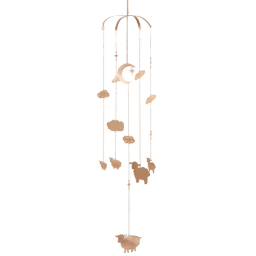 Counting Sheep Mobile - Rose Gold