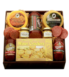 Hearty Meats & Cheeses Crate Flower Delivery