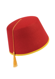 Red Adult Fez Hat