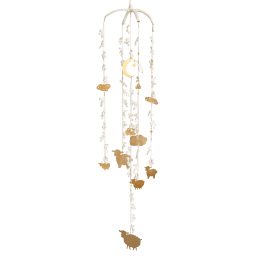 Lace Counting Sheep Mobile