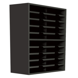 """Marvel 24"""" W 20-Compartment Steel Mail Sorter"""