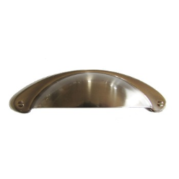"""Hardware House 155830 Cup Pull, Satin Nickel ~ 3"""""""