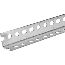 """Hillman/Steelworks 11113 Angled Steel - Slotted - 1.25"""" x 1.25"""" x 48"""""""