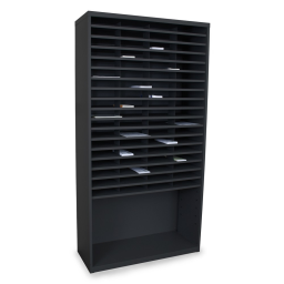 """Marvel 42"""" W 72-Compartment Steel Mail Sorter"""