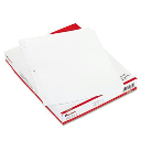 Universal Letter 5-Tab Dividers  White  36 Sets