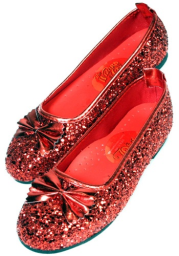 Ruby Slippers Red Shoes for Kids
