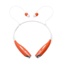 Water-Resistant Behind-the-Neck Bluetooth Stereo Headset / Orange