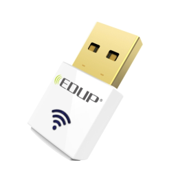 EDUP Mini 2.4G 5.8G 600Mbps WiFi Adapter Wireless Dual Band USB Network Card Adapter IEEE 802.11AC White