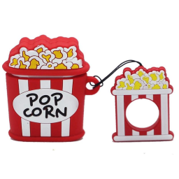 Compatible Fruity AirPods Cute Case Cover / Popcorn