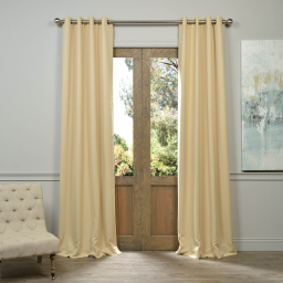 Biscotti Grommet Blackout Curtain