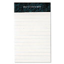 """TOPS 3"""" X 5"""" 50-Sheet 12-Pack Legal Rule Perforated Pads  White Paper"""