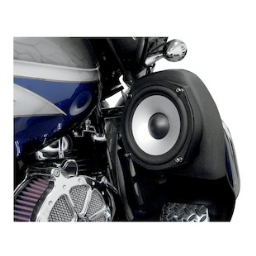 Hogtunes 7 Woofer Kit For Harley Touring / Trike With Lowers 1998-2013