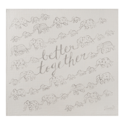 'Better Together' Organic Swaddle Scarf