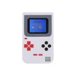 Mini Handheld Game Console 2.0 - Includes 268 Games / White