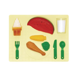 3D Chunky Food Puzzle- Dinner