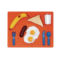 3D Chunky Food Puzzle- Breakfast