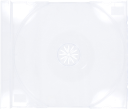 10 STANDARD Clear CD Jewel Case (Tray Only NO Cartons)
