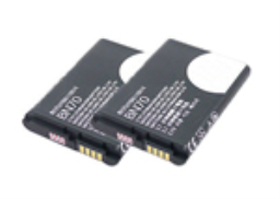 Replacement Battery for Motorola BN70 (2-Pack)