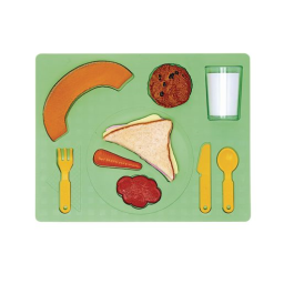 3D Chunky Food Puzzle- Lunch