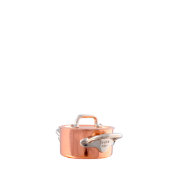 Mauviel M'Mini Stainless Steel Cocotte, 10-oz