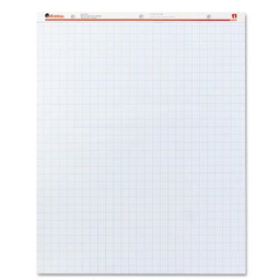 """Universal Recycled 27"""" x 34""""  50-Sheet  2-Pack  Quadrille Ruled Easel Pads"""