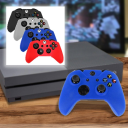 4-Pack: Xbox One Soft Silicone Gel Rubber Grip Protecting Cover