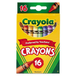 Crayola Classic Color Pack Crayons  16-Colors