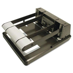 Stanley Bostitch 160-Sheet Heavy Duty Adjustable 2 & 3-Hole Punch with Antimicrobial Protection