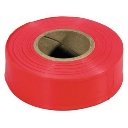 Irwin 65601 Flagging Tape,  Glo Red  ~ 150 ft