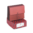 """Smead Letter 7"""" Expanding Tuff Wallet with Closure  Manila/Redrope"""