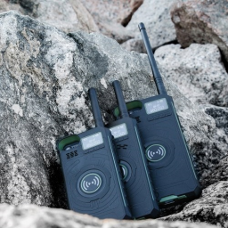 DTNO.I Practical 3 in 1 IP01 Outdoor Walkie Talkie Phone Case Power Bank for iPhone
