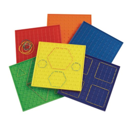 Excellerations® 9 Geoboards - Set of 6