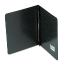 """Acco 3"""" Capacity 8-1/2"""" x 11"""" Prong Clip Reinforced Hinge Pressboard  Report Cover  Black"""