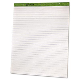 """Ampad Recycled 27"""" x 34""""  50-Sheet  2-Pack  Ruled Flip Charts"""